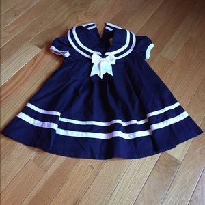 Other - Baby Girl 12m Sailor Dress
